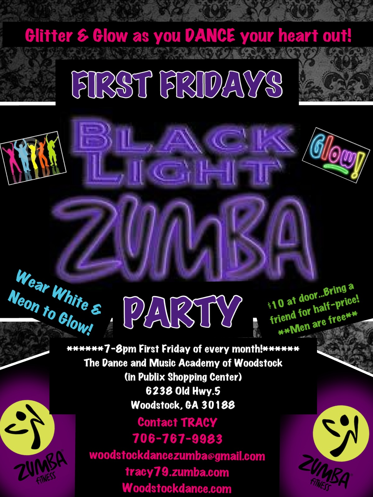 94+ Glow In The Dark Party Invitations Free Templates - Glow Party ...