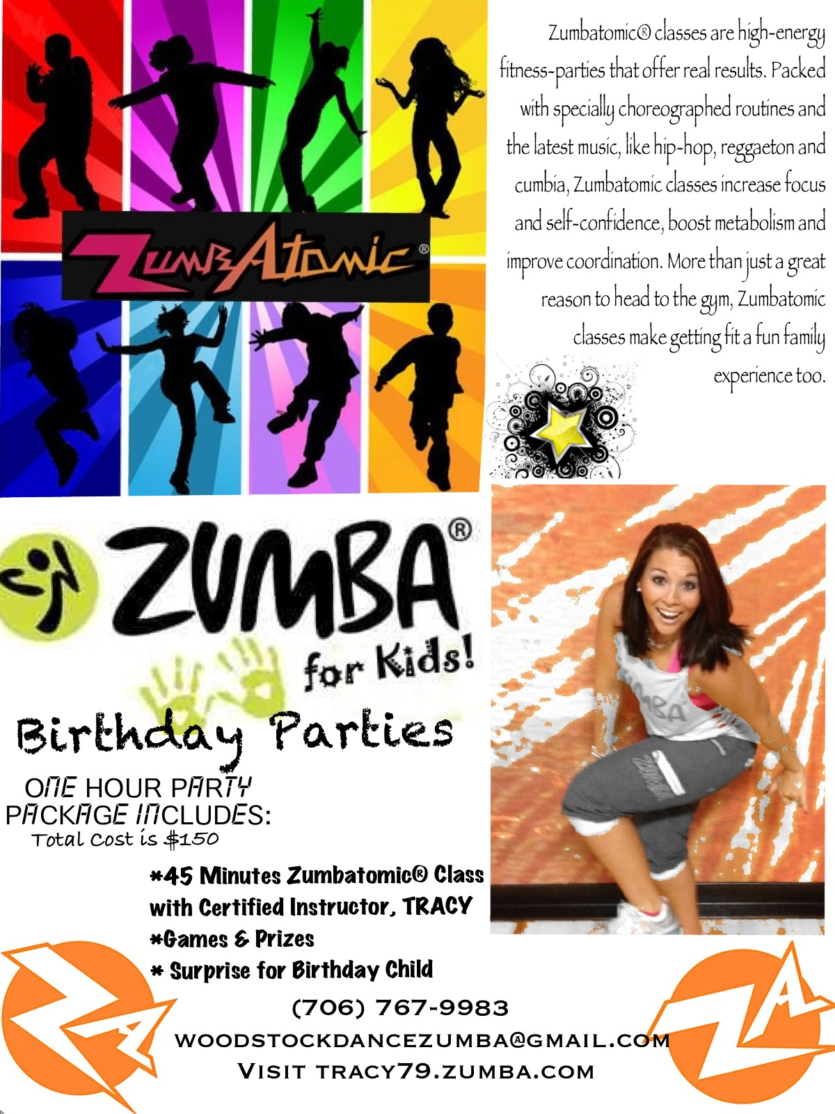 Zumba fitness sunnys occasions zumba party flyer stopboris Image collections